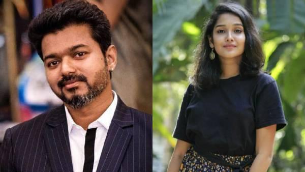 'நடிகர் விஜய்யா இருக்குறது ஒன்னும் அவ்ளோ ஈஸி இல்ல' அந்த பாப்பாவா இப்படி பேசியிருக்காங்க! | Actress Anikha Surendran supports actor Vijay