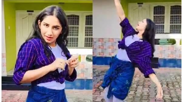 முட்டிக்கு மேல் ஏற்றிக் கட்டிய லுங்கி.. மலையாளப் பாட்டுக்கு குத்தாட்டம் போட்ட ரவீனா!   Raveena Daha dances for a Malayalam song