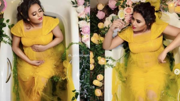 வேற லெவல் வெண்பா… பாரதி கண்ணம்மா ஃபரீனா ஆசாத்தின் அசத்தல் பாத் டப் ஃபோட்டோஷுட் | Barathi Kannamma fame Farina Azad's bath tub photoshoot wins hearts