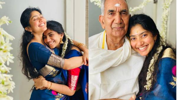 தாத்தாவின் 85வது பிறந்தநாளை  புத்துணர்ச்சியுடன் கொண்டாடிய சாய் பல்லவி! வைரல் போட்டோஸ் !