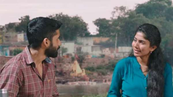 """சாய்பல்லவி - நாகசைதன்யா நடிப்பில் உருவாகியிருக்கும் """"லவ் ஸ்டோரி""""   ட்ரைலர் வெளியானது!"""