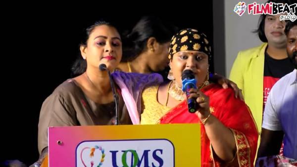 ஷகீலா அக்கா மட்டும் இல்லைன்னா அன்னைக்கே.. மேடையில் கண்ணீர் விட்டு கதறிய அங்காடி தெரு சிந்து!