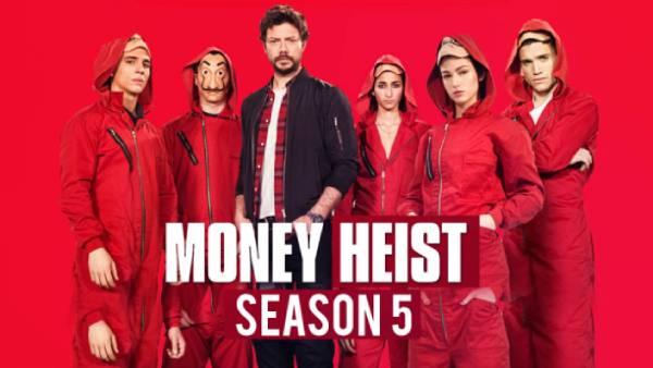 Money Heist Season 5… செப்டம்பர் 3 முதல் நெட்ஃப்ளிக்ஸில்… ஹேஷ்டேகுகளை தெறிக்கவிடும் ரசிகர்கள் !
