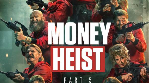 ரசிகர்களுக்கு நல்ல ட்ரீட்… அனைவரின் பாராட்டை பெற்ற Money Heist Season 5 !