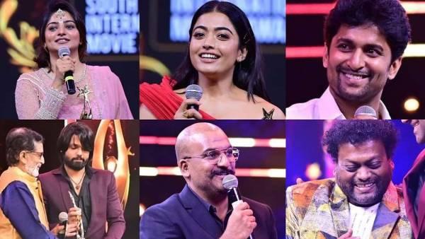 SIIMA விருதுகளை அள்ளிய அசுரன்...சிறந்த நடிகர் தனுஷ், சிறந்த படம் கைதி