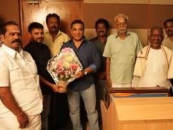 Kamal Lends His Voice Gautham Karthick