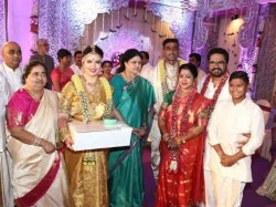 Radhika Sarathkumar S Daughter Marries Cricketer Boyfriend