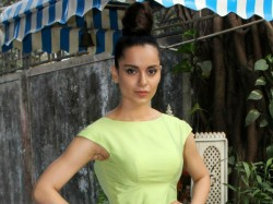 Kangana Ranaut Miraculously Escapes Unhurt Us Road Acciden