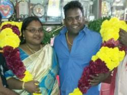 Robo Shankar Celebrates Wedding Day