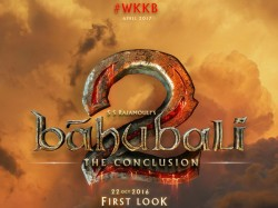 Bahubali 2 Audio Be Released March 26