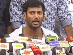 Protest Against Vishal