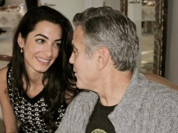 George Clooney Is Proud Father Twins