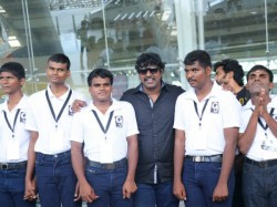 Mime Gopi Fulfills Blind Students Dream