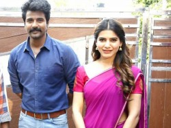 Samantha With Sivakarthikeyan Latest Photo