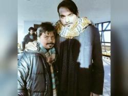 Vijay Sethupathi With His Son