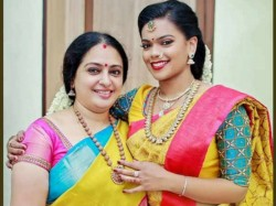 Seetha Attends Daughter S Engagement Function