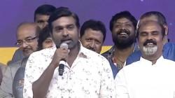 Vijay Sethupathi Video In Sye Raa Narasimha Reddy Movie Function Goes Viral