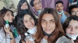 Rakul Preet Singh Shoots Despite Coronavirus Scare But With Masked Crew