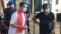 Akshay Kumar Starts Outdoor Shoot During Lockdown