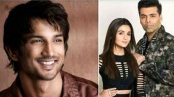 Sushant Singh Rajput Death Karan Johar And Alia Bhatt Are Trending Social Media