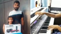 Cobra Producer Lalit Kumar Gifts Visually Impaired Sahana For The Viral Thumbi Thullal Video