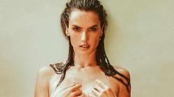 Alessandra Ambrosio Semi Nude Bathing Pics Goes Viral