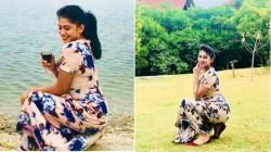 Actress Piumi Hansamali Enjoys In Resort