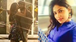 The Photo Of Vijayalakshmi Kissing Her Husband Is Going Viral