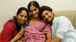 Nani Seeks His Mother Blessing As She Celebrates Her Birthday