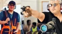 Thala Ajith Goes To The Next Level In Gun Sports