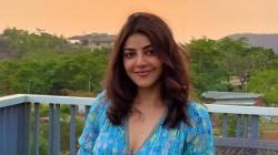 Actress Kajal Agarwal Enjoy Sunrise Viral Photos