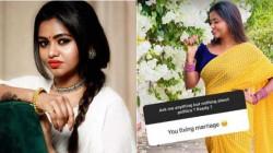 Actress Shalu Shammu Slipper Shot Reply To A Netizen
